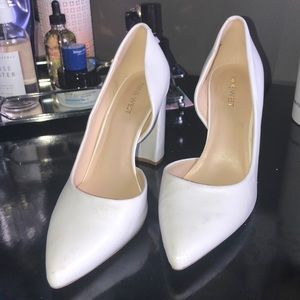 "c7431806e3 Nine West Shoes - Nine West White ""Anisa D'orsay"" Pump"
